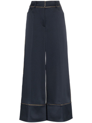 Peter Pilotto Satin Culottes Pants