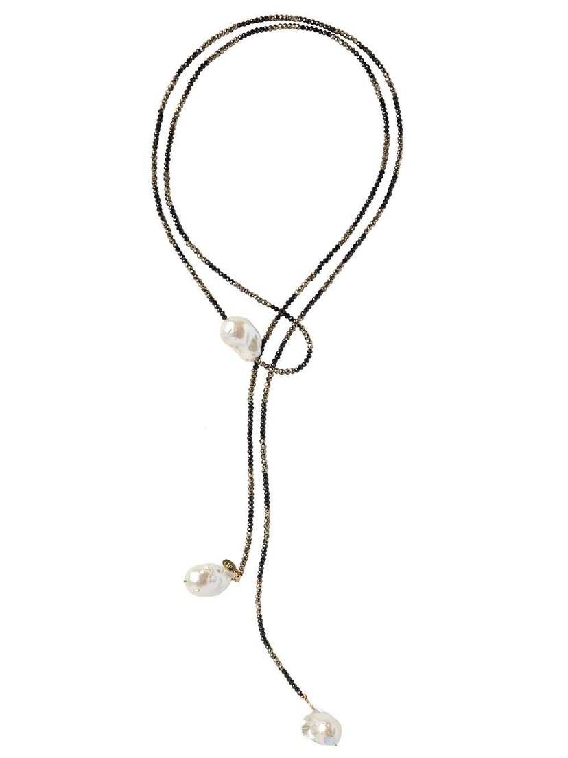 Joie DiGiovanni Joie DiGiovanni - Ombre Triple Pearl Lariat Jewelry