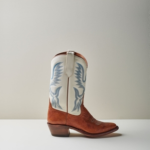 Miron Crosby Samantha Boot in Sienna and Creme Shoes