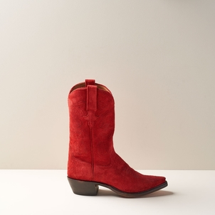 Miron Crosby Sally Mid Boot in Cardinal Shoes