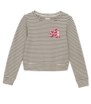 Mother The Boatneck Matchbox Sweatshirt Tops