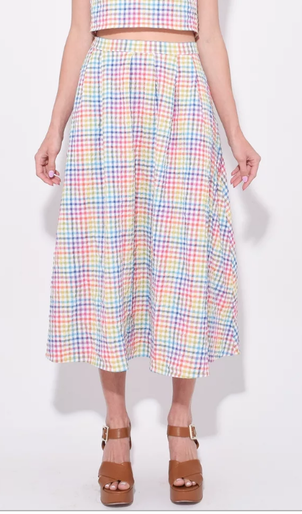 Saloni Naomi Rainbow Skirt Skirts