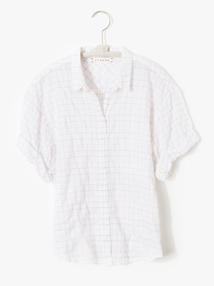 Xírena Chance Shirt - White Sail Tops