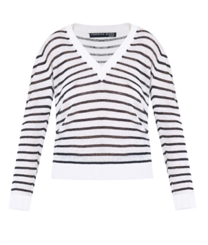 Veronica Beard V-Neck Dean Sweater Tops
