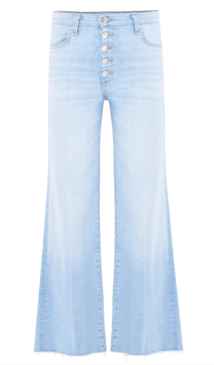 Veronica Beard Kirra Flood Length Jean Pants