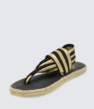 Nalho Ganika Metallic Sandal Shoes