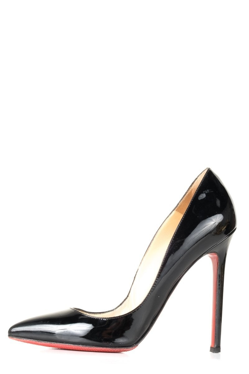Christian Louboutin Christian Louboutin Black Patent Pigalle 120 Pumps 36 Shoes