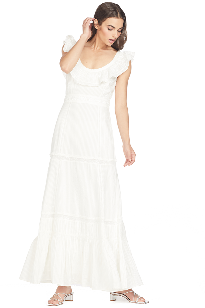 Loveshackfancy Joanne Dress (Cream) Dresses