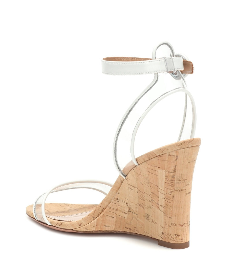 Aquazzura Minimalist Wedge Shoes