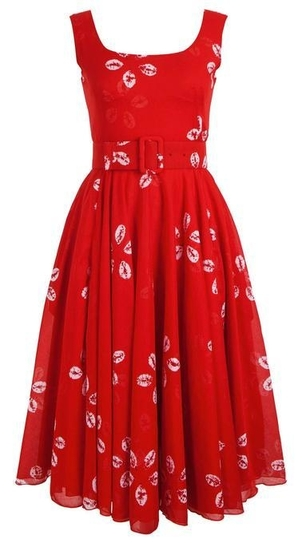 Samantha Sung Aster Dress in Red Dresses Gifts