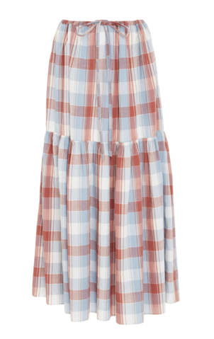 Ulla Johnson Pari Skirt in Plaid Skirts
