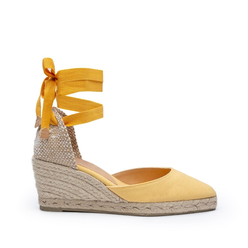Castañer Yellow Espadrilles Gifts Shoes