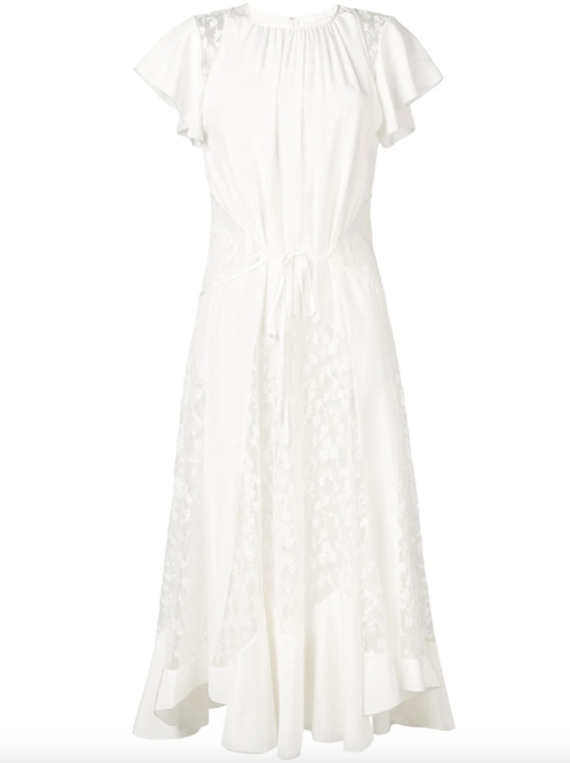 Chloé Chloe Lace Dress Iconic Milk Dresses