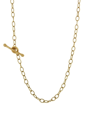 Cathy Waterman Cathy Waterman 24 Inch Tiny Lacy Chain Necklace - Yellow Gold Jewelry