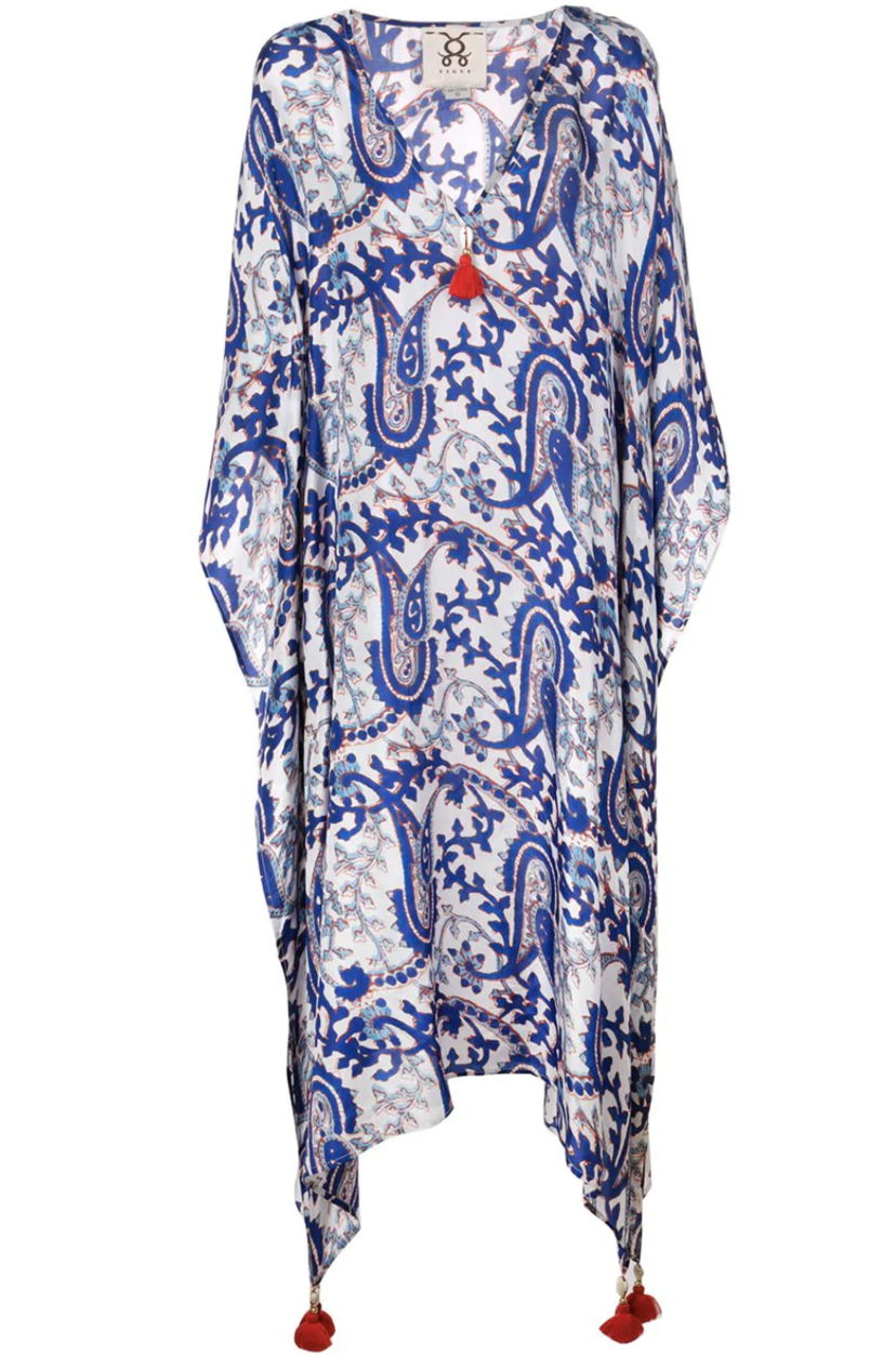 Figue Paisley Kaftan Dresses Tops