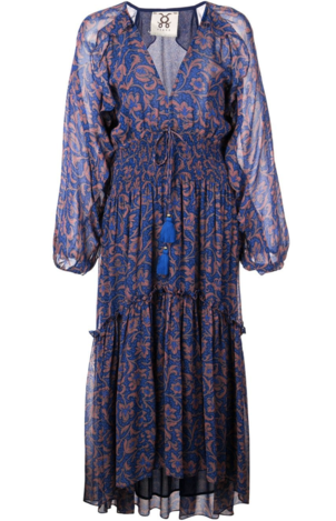 Figue Blue Paisley Dress Dresses