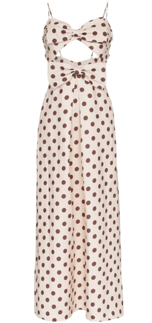 Zimmermann Polka Dotted Dress Dresses Sale