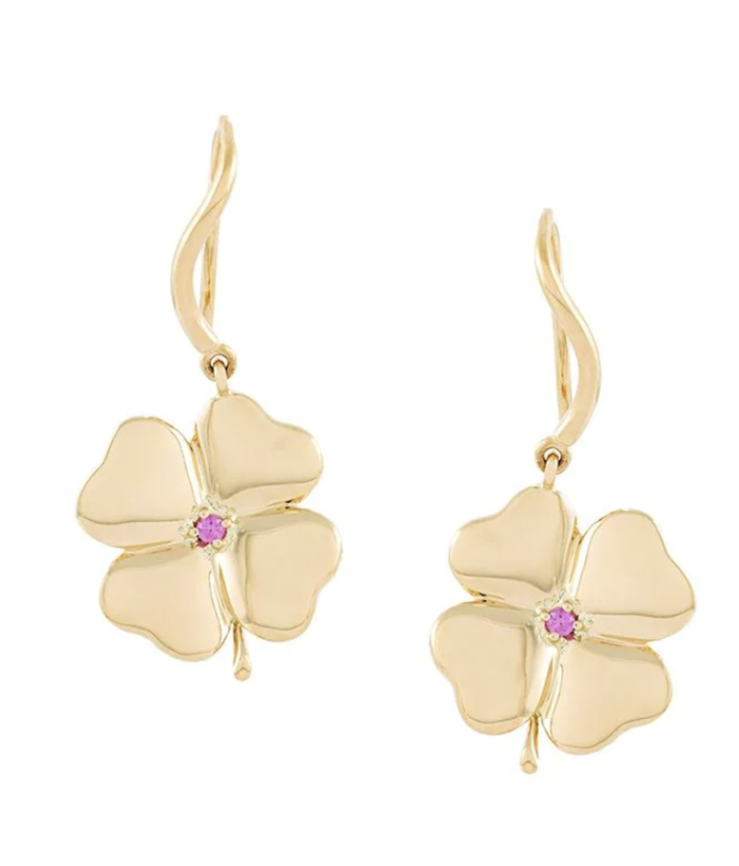 Aurélie Bidermann Clover Earrings Gifts Jewelry