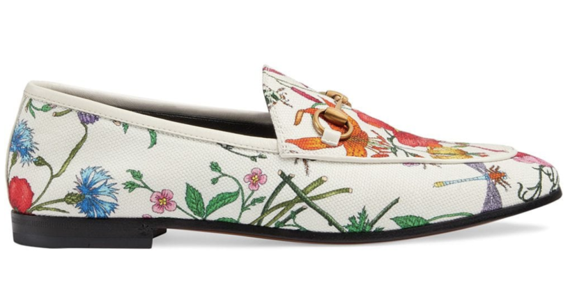 Gucci Floral Loafers Gifts Shoes