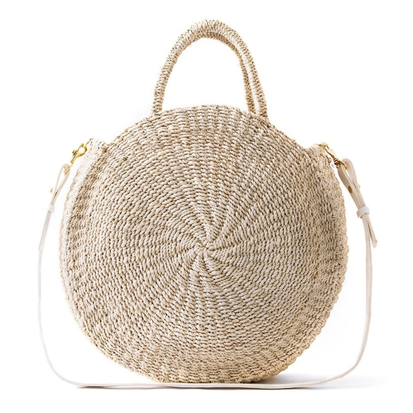 Clare V Woven Alice Straw Bag Bags Sale