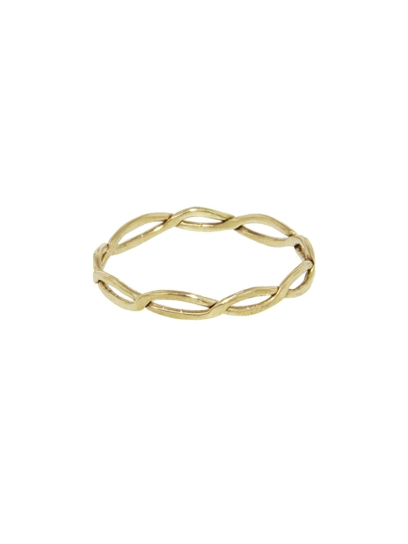 Melissa Joy Manning Melissa Joy Manning Full Twist Ring - Yellow Gold Jewelry