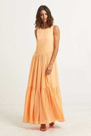 Marie Oliver BLAIR TIERED MAXI DRESS