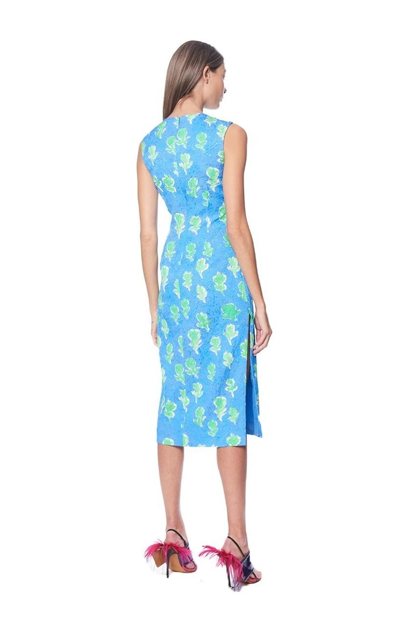 Prabal Gurung Sky Blue Sheath Dress Dresses