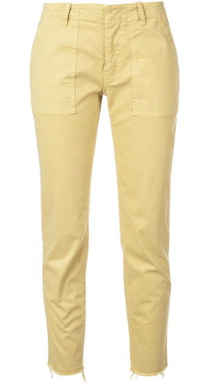 Nili Lotan Jenna Pant - Golden Yellow Pants
