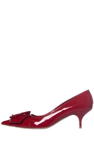 Miu Miu Miu Miu Red Patent Leather Pumps SZ 40.5 Shoes
