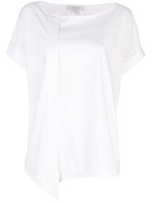 Dorothee Schumacher Asymmetric Flared Blouse Tops