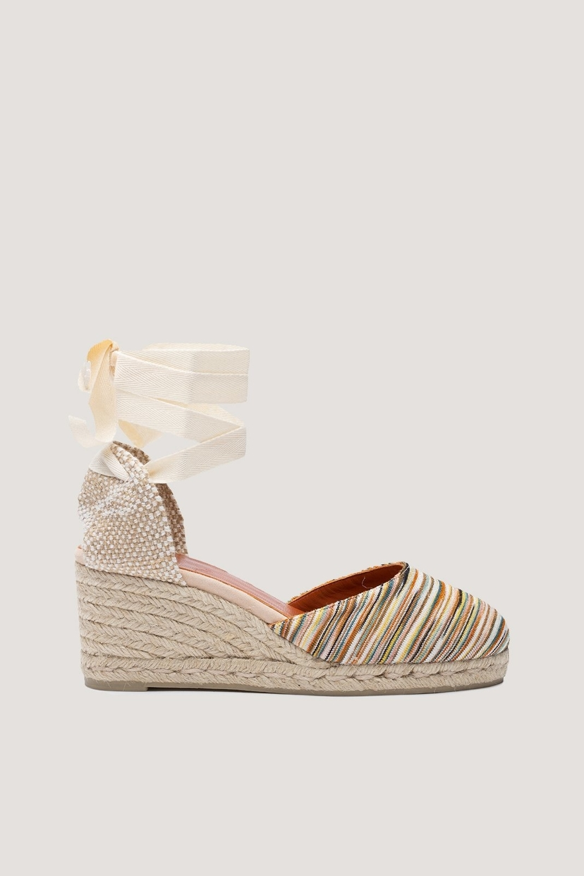 9923903f616 Carina Multi Color Missoni Wedge Espadrilles | House Account