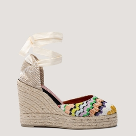 Carina 70mm Missoni Wedge Espadrilles