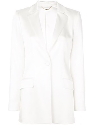 Adam Lippes Adam Lippes - Double Hammered Single Breasted Blazer Outerwear