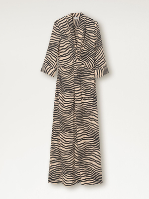 BY MELANE BIRGER Diya Dress - Zebra Print Dresses