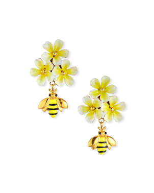 Jennifer Behr Daya Earrings in Honey Jewelry