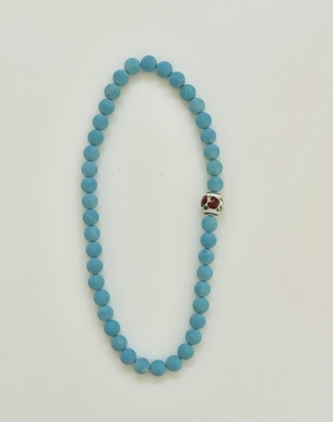 The Woods Fine Jewelry Turquoise Stretch Necklace Jewelry