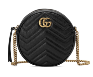 Gucci Black Quilted Round Shoulder Bag Bags