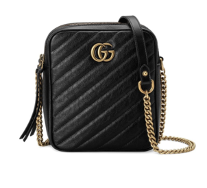 Gucci Black Quilted Mini Shoulder Bag Bags