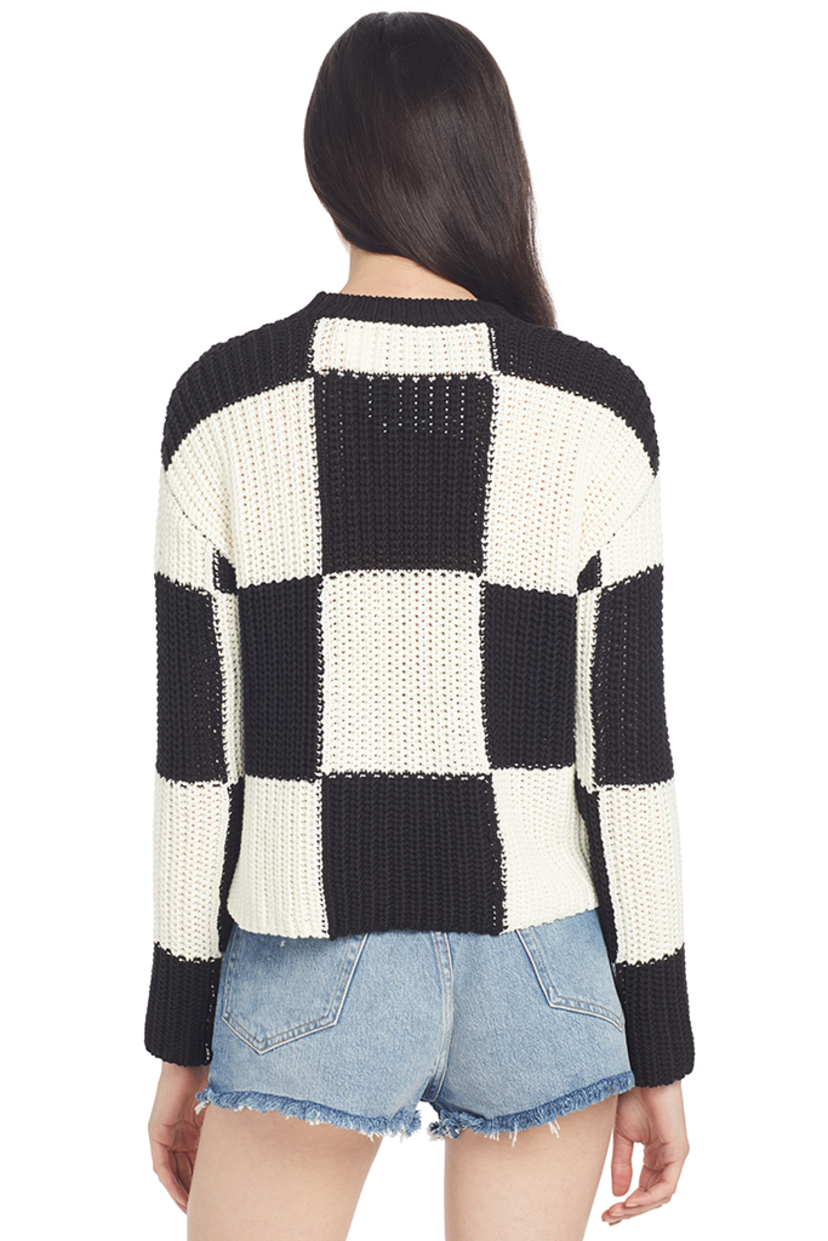 A.L.C. Sam Sweater (Checkered) Outerwear