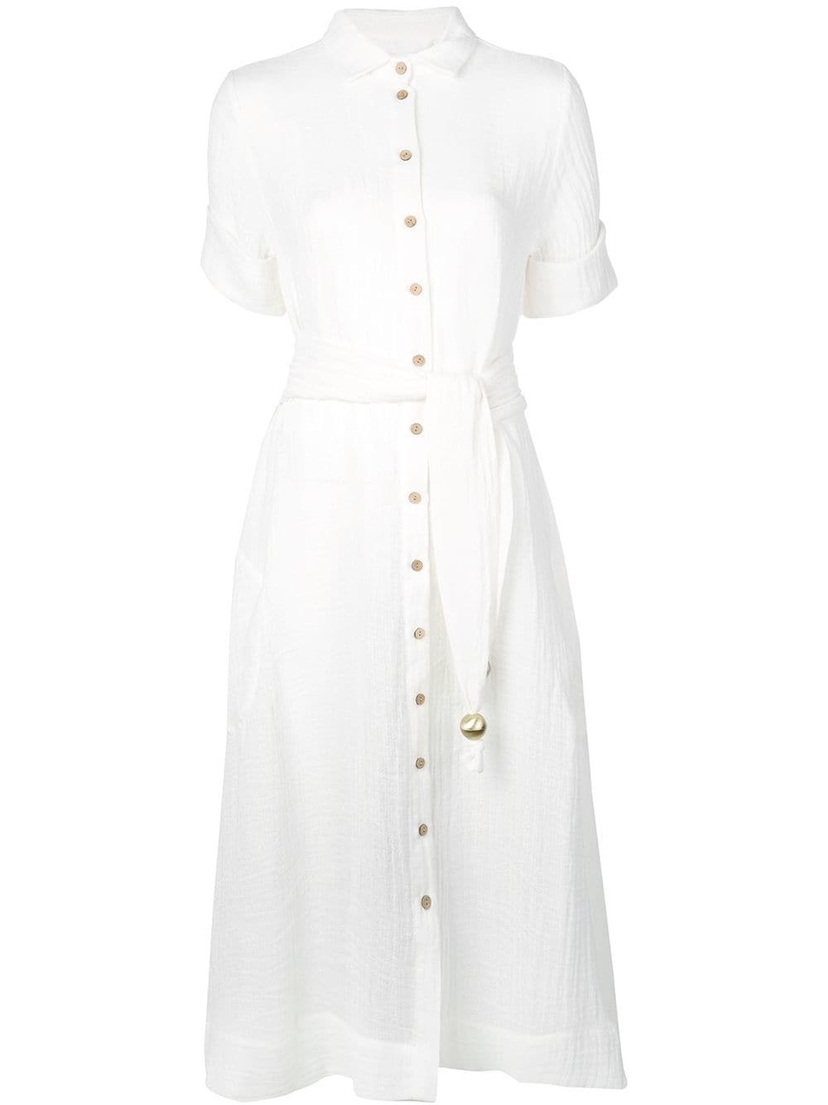Lisa Marie Fernandez Classic Shirt Dress Dresses