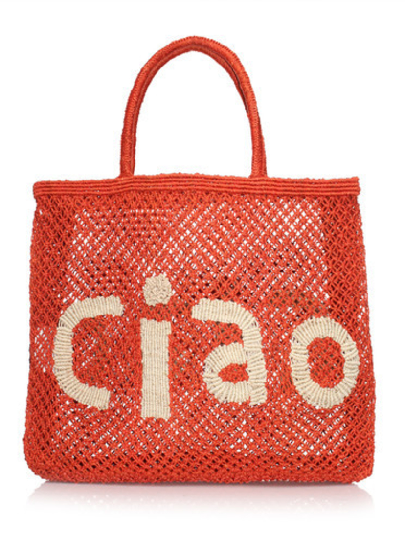 The Jacksons Ciao Word Bag LG Red Bags
