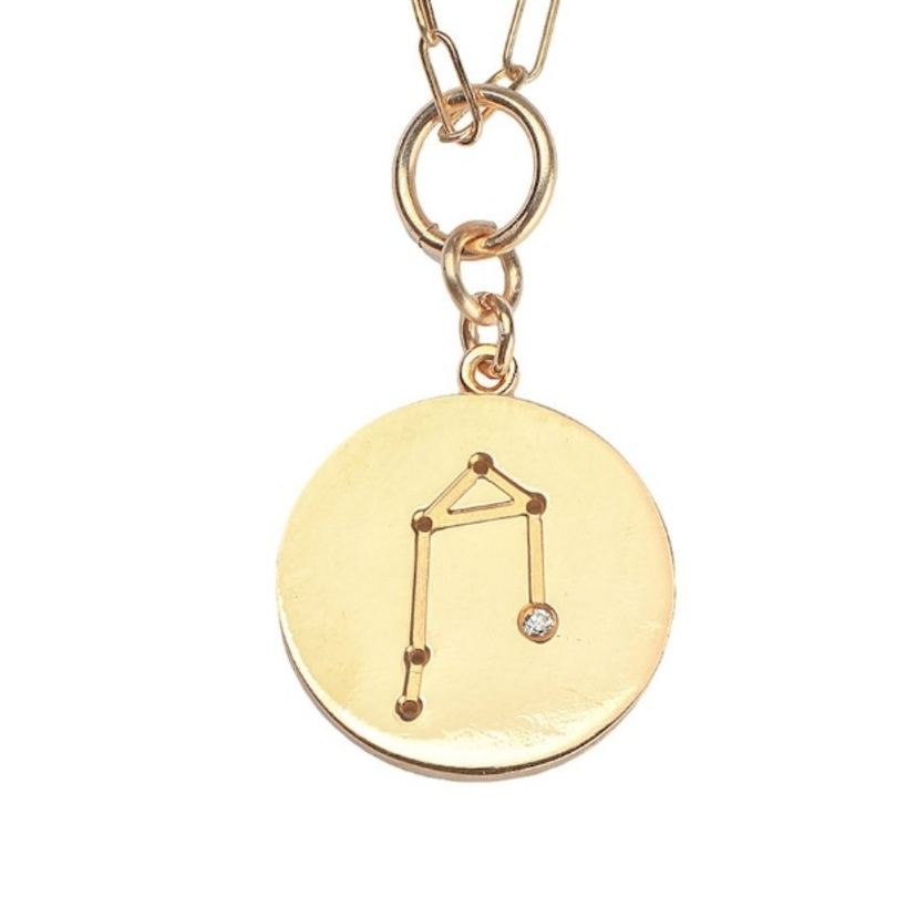 THATCH Constellation Charm Necklace Libra Jewelry