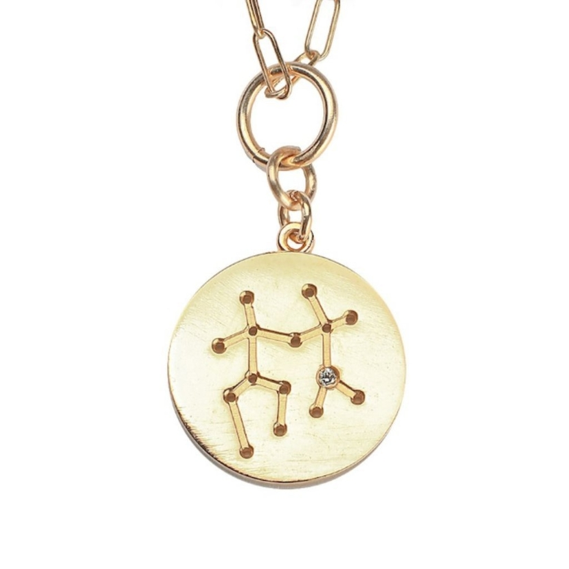 THATCH Constellation Charm Necklace Gemini Jewelry