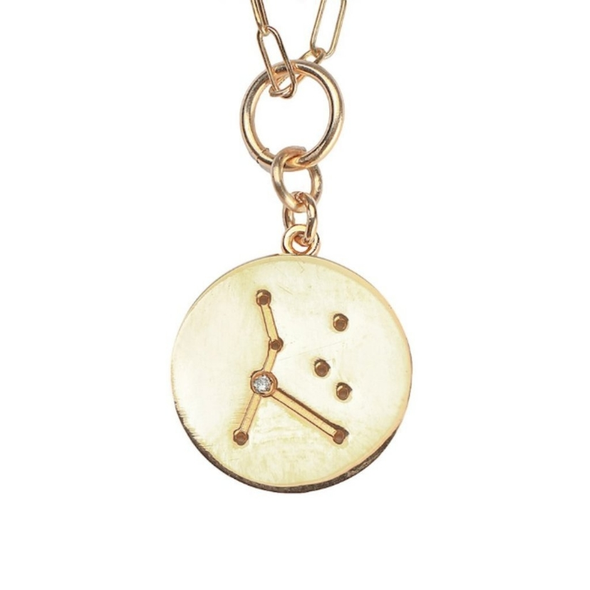 THATCH Constellation Charm Necklace Cancer Jewelry