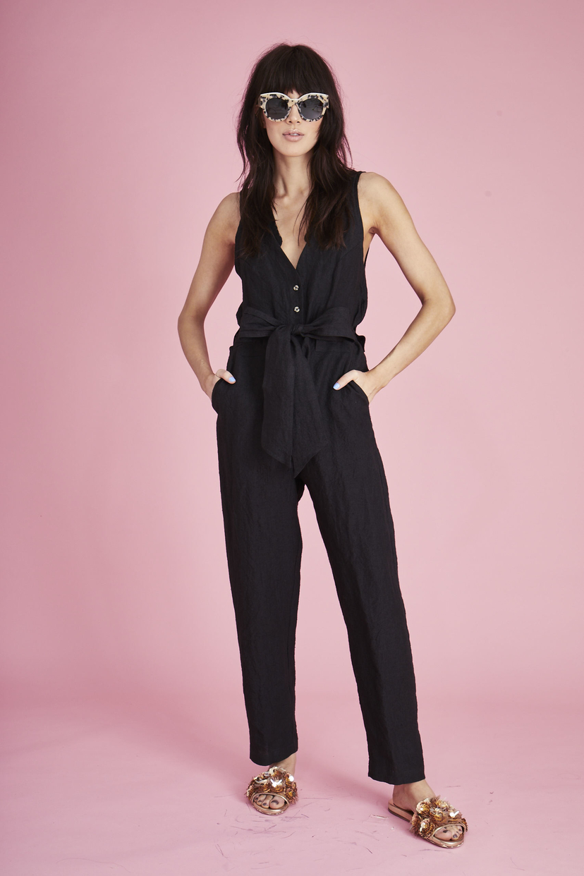 Hunter Bell EMERSON JUMPSUIT Jumpsuits / Rompers