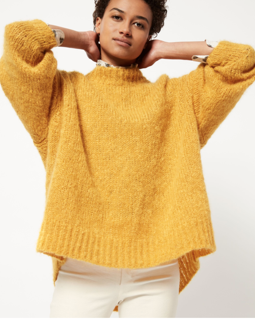 Isabel Marant Isabel Marant Idol Sweater Yellow Tops