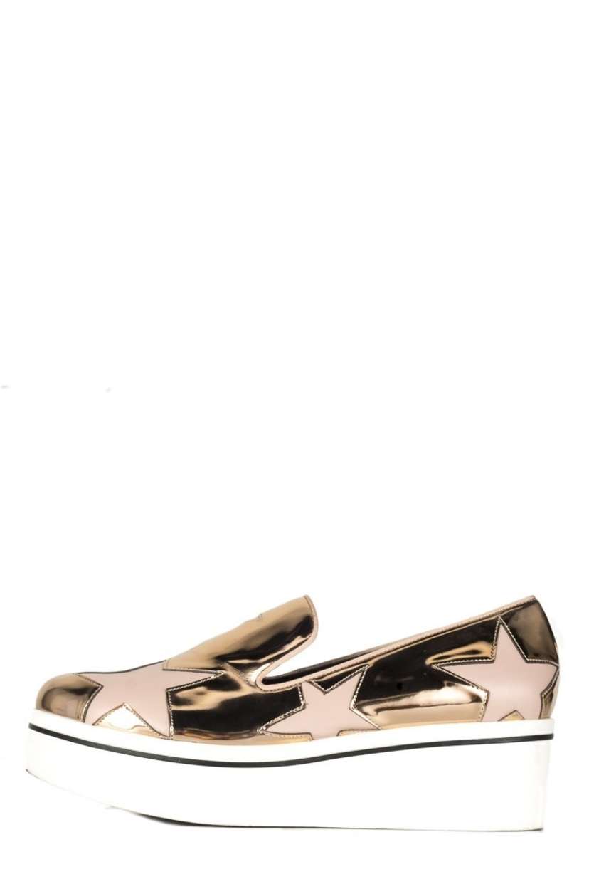 Stella McCartney Stella McCartney  Metallic Pink Platform Sneakers 39 Shoes