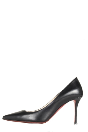 Christian Louboutin Christian Louboutin Black Leather Pump 37 Shoes