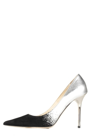 Jimmy Choo Jimmy Choo  Black and Silver Pumps 37.5 Sale Shoes