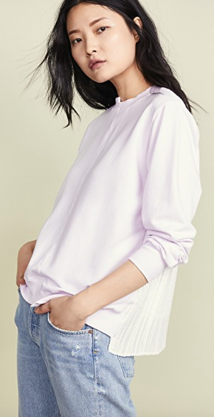 Clu USA Pleat Back Sweatshirt